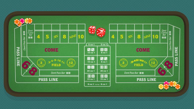 How to make money on craps table
